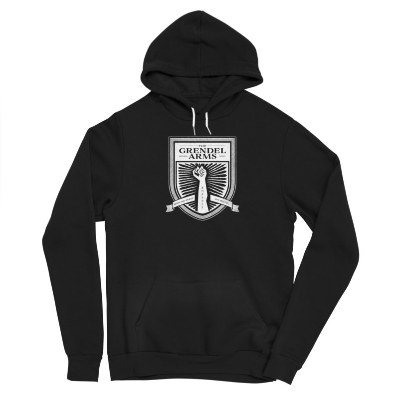 The Grendel Arms Feminine Pullover Hoody by Crowglass Design