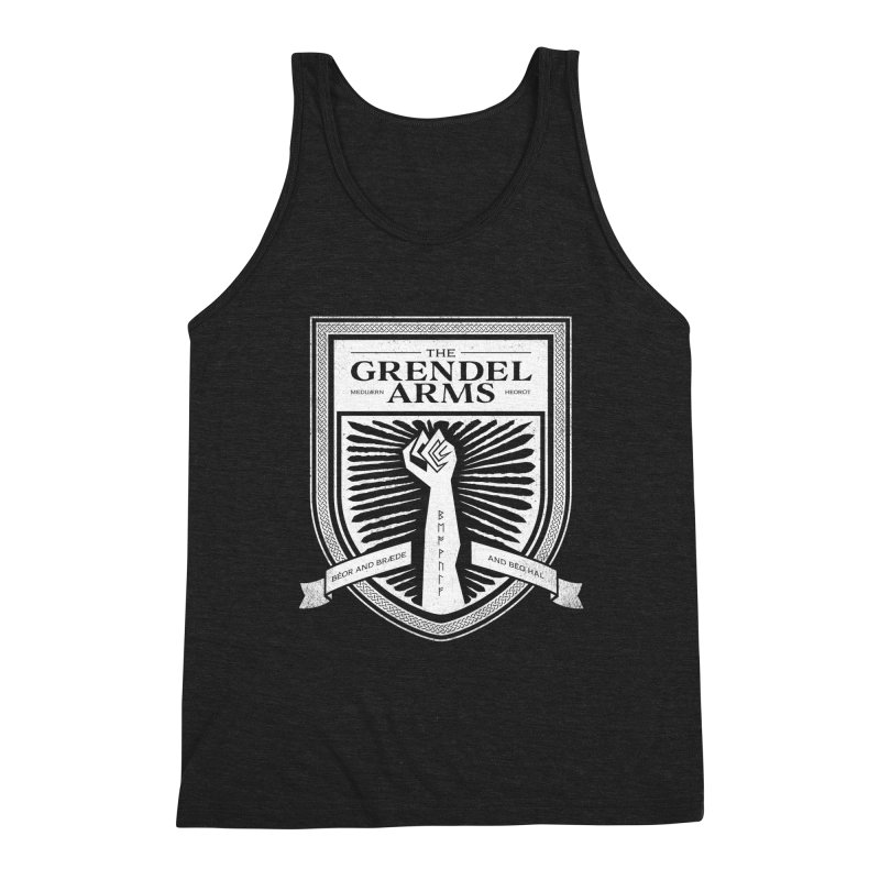 The Grendel Arms Men's Triblend Tank by Crowglass Design