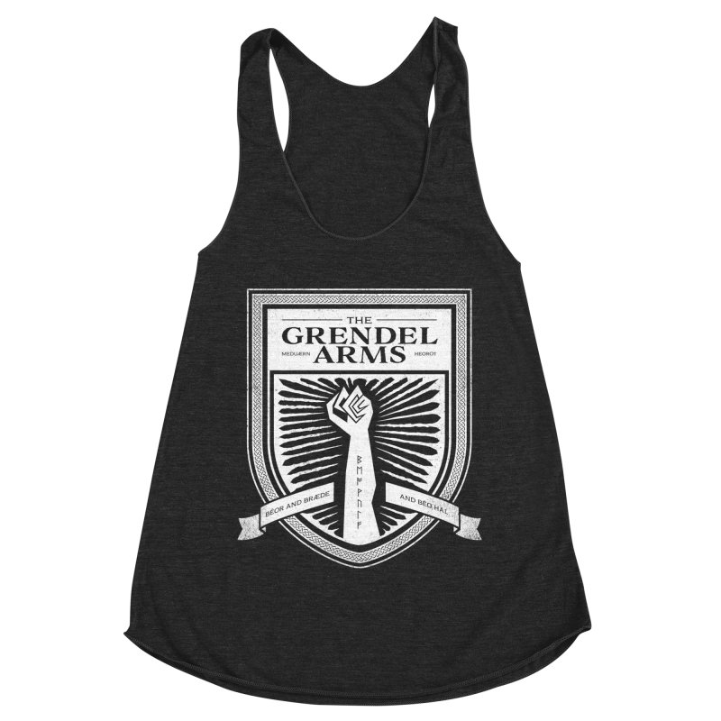 The Grendel Arms Women's Racerback Triblend Tank by Crowglass Design