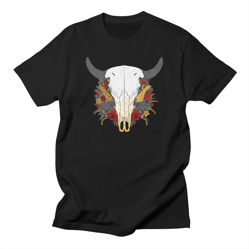 Summer Ox Feminine T-Shirt by Crowglass Design