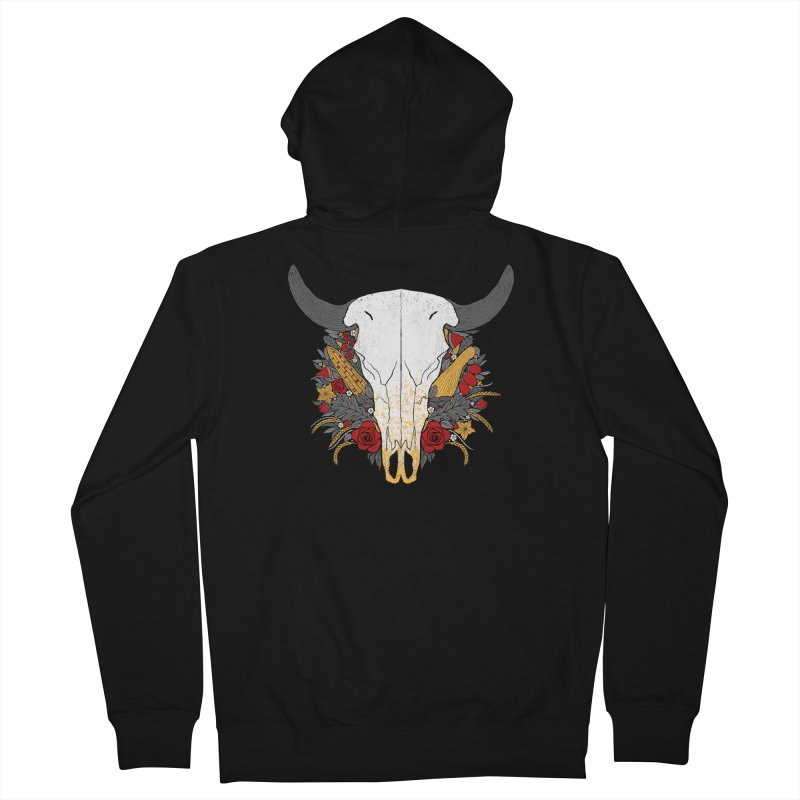 Summer Ox Women's French Terry Zip-Up Hoody by Crowglass Design