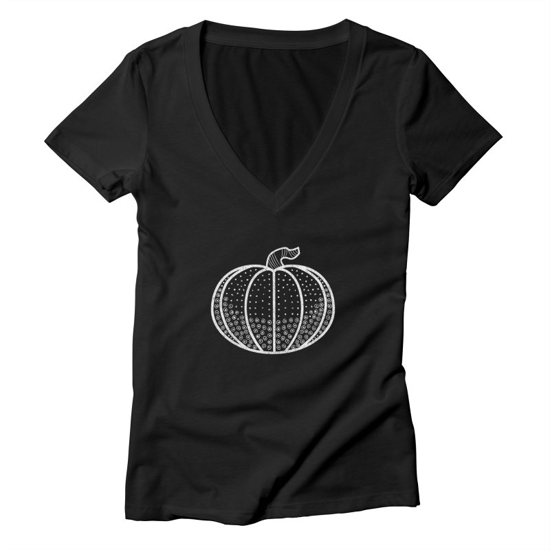 Halloween: 2019 Women's Deep V-Neck V-Neck by Crowglass Design