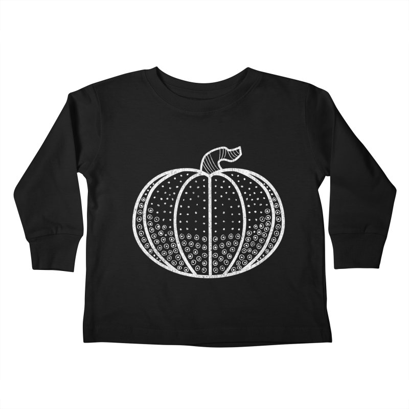 Halloween Lights Kids Toddler Longsleeve T-Shirt by Crowglass Design