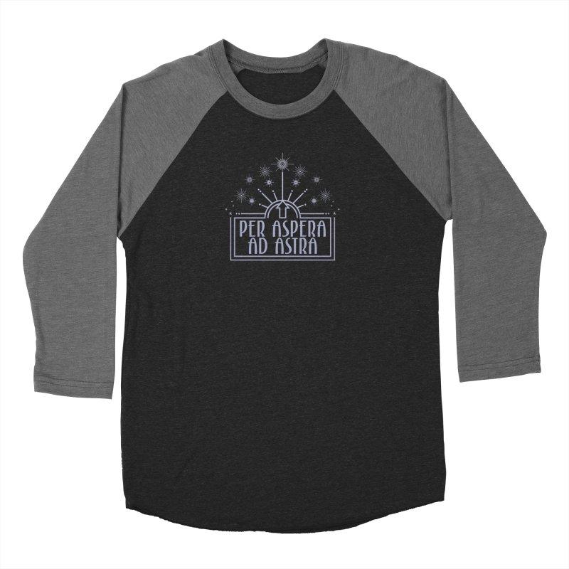 Per Aspera Ad Astra Women's Longsleeve T-Shirt by Crowglass Design