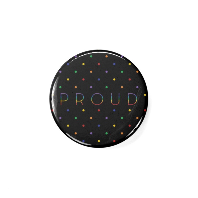 Pride Party Accessories Button by Crowglass Design