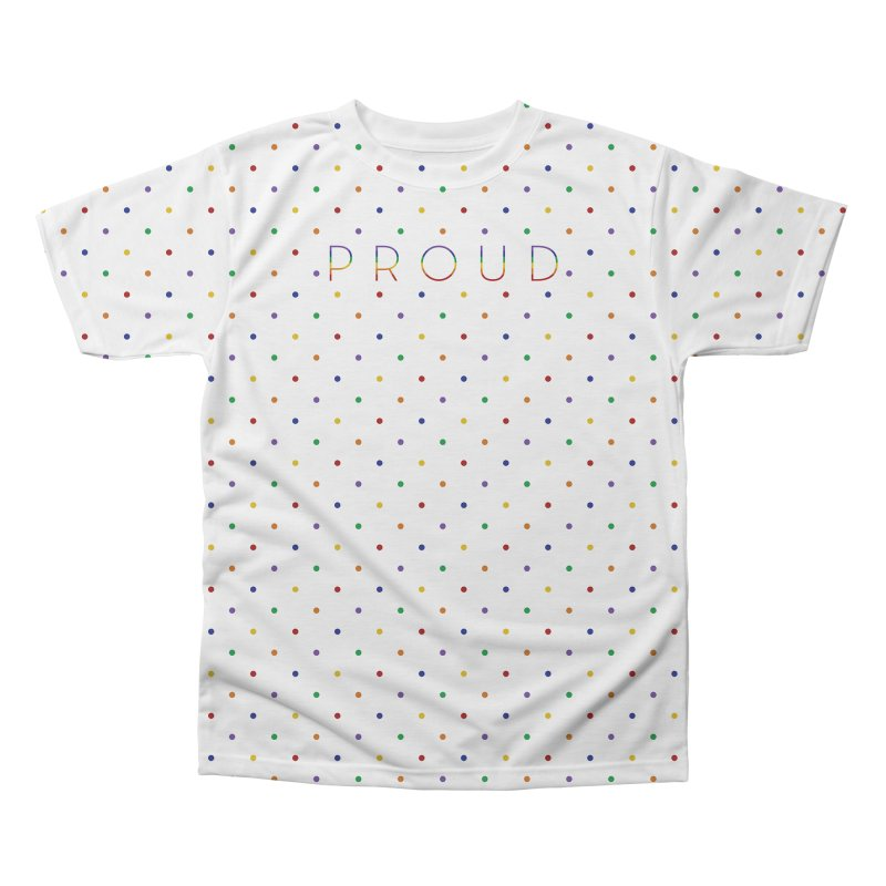 Pride Party Men's Regular All Over Print by Crowglass Design
