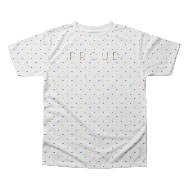 Pride Party Men's Triblend All Over Print by Crowglass Design