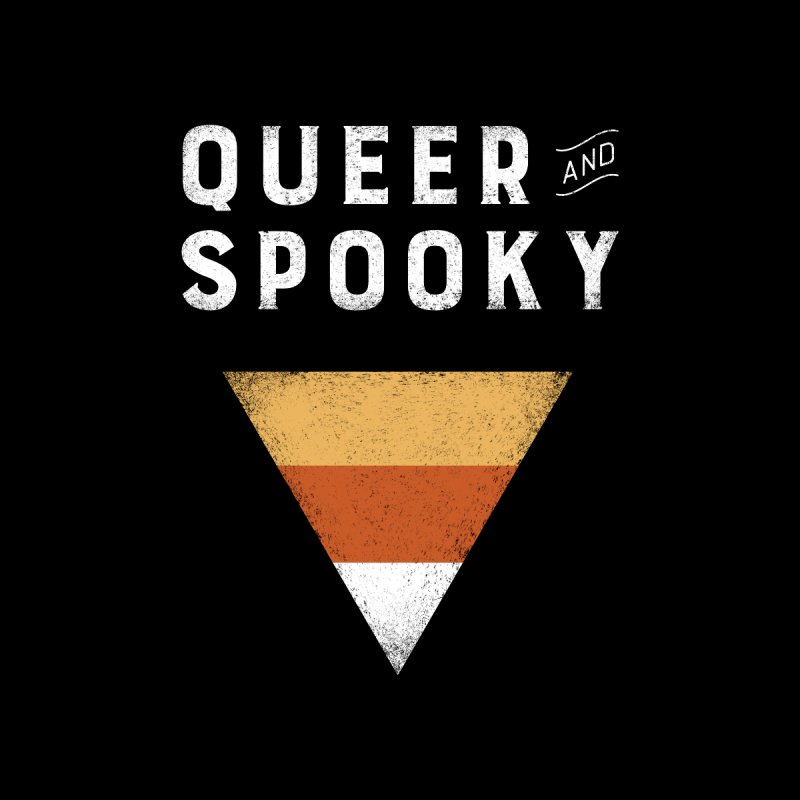 Queer and Spooky Men's T-Shirt by Crowglass Design