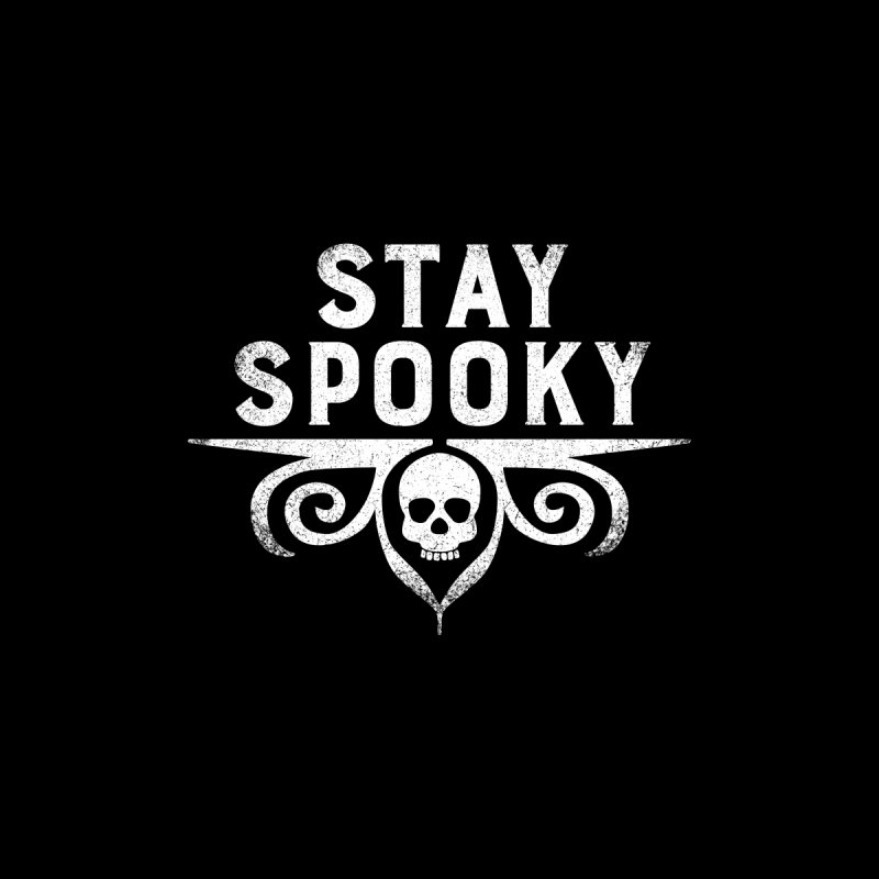 Stay Spooky Men's T-Shirt by Crowglass Design