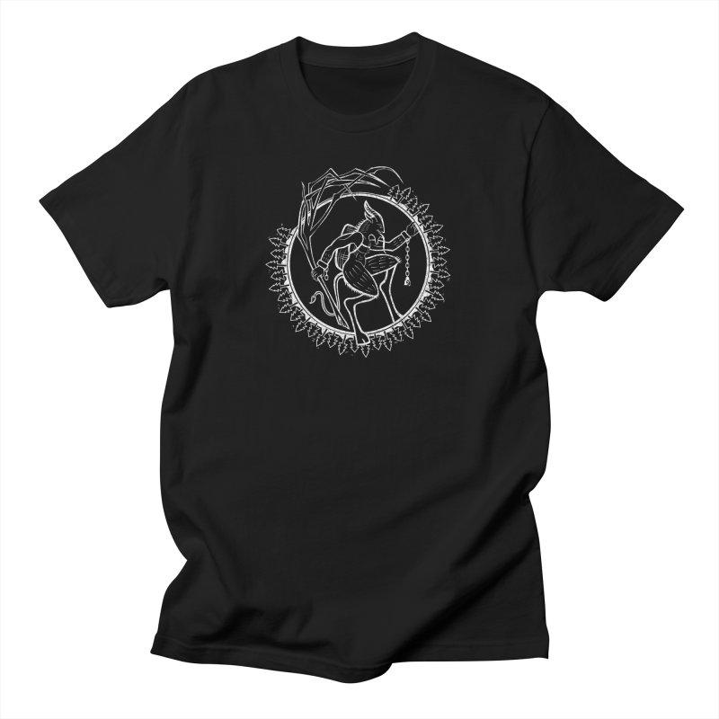 Krampus Pursuant All Gender T-Shirt by Crowglass Design