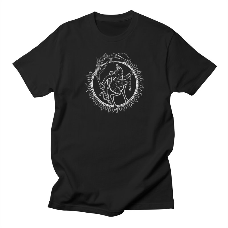 Krampus Pursuant Men's T-Shirt by Crowglass Design