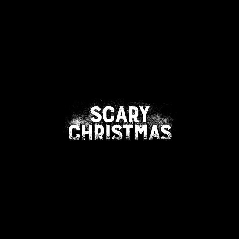 Scary Christmas Men's T-Shirt by Crowglass Design