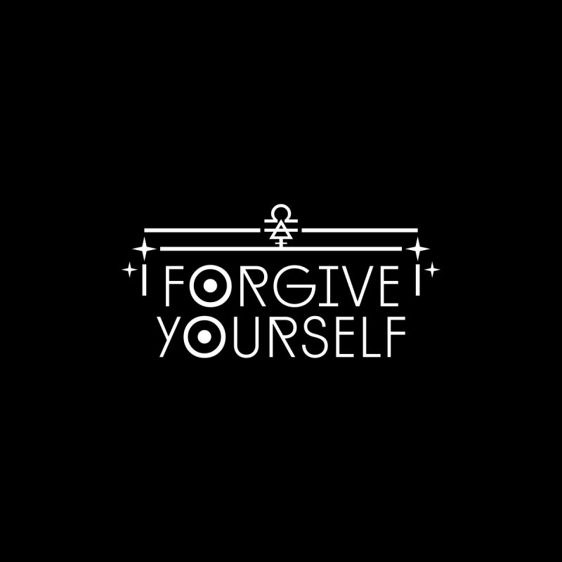 Forgive Yourself Accessories Magnet by Crowglass Design
