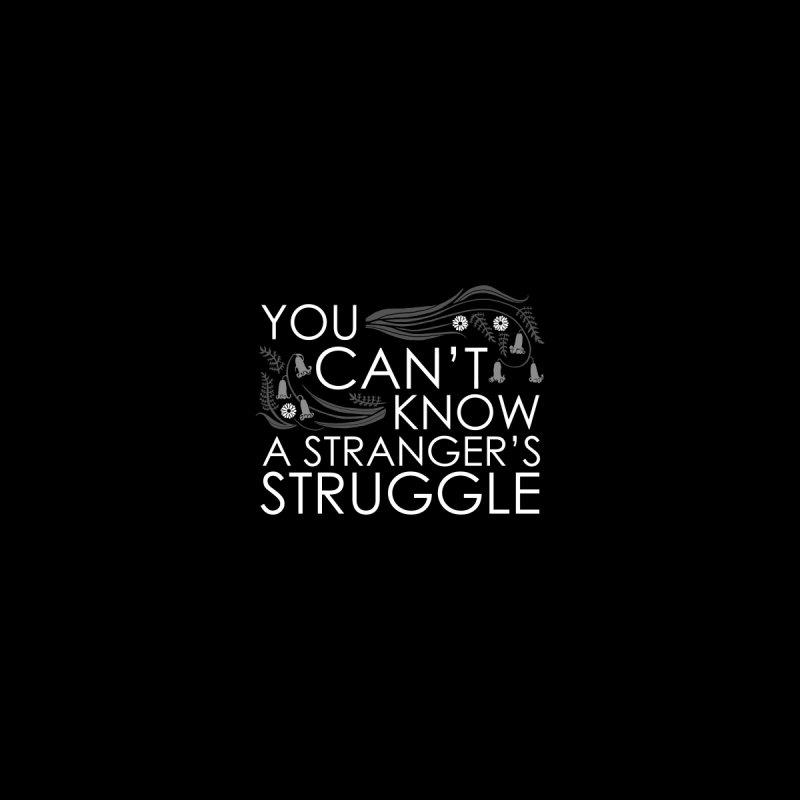 Struggle Men's T-Shirt by Crowglass Design