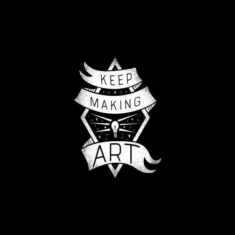 Keep Making Art Accessories Sticker by Crowglass Design