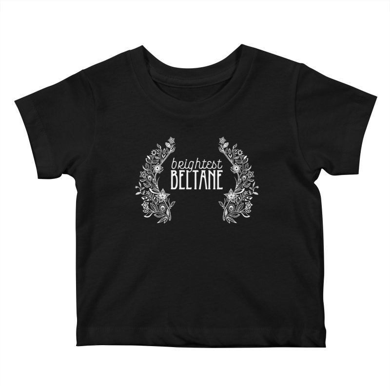 Brightest Beltane Kids Baby T-Shirt by Crowglass Design