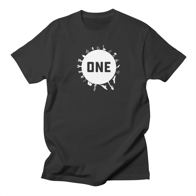One Earth Men's T-Shirt by Crowglass Design