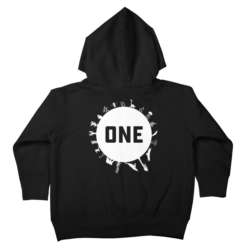 One Earth Kids Toddler Zip-Up Hoody by Crowglass Design