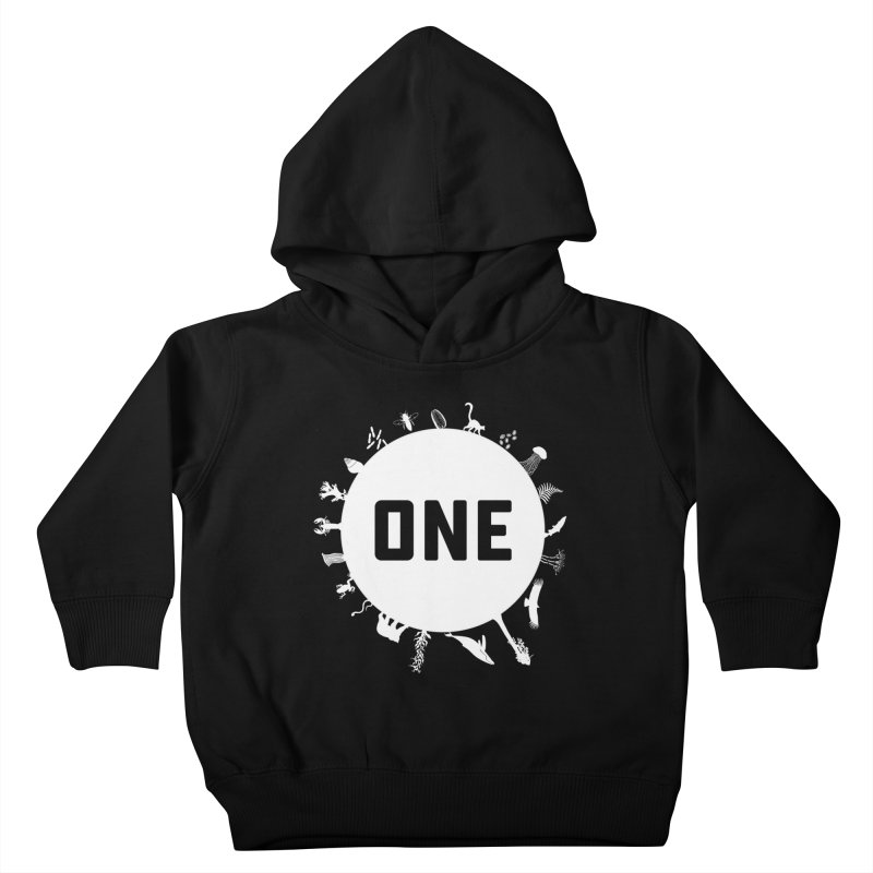 One Earth Kids Toddler Pullover Hoody by Crowglass Design