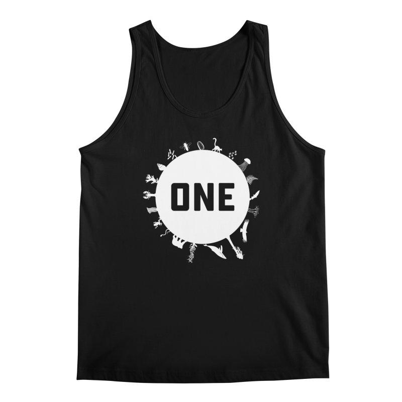 One Earth Men's Regular Tank by Crowglass Design