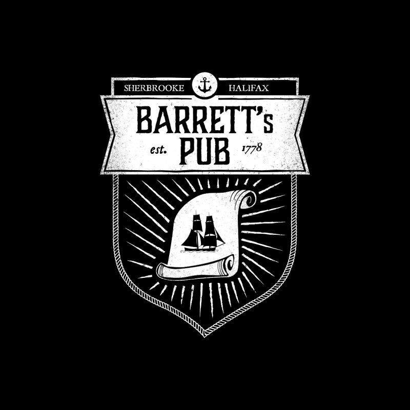 Barrett's Pub by Crowglass Design