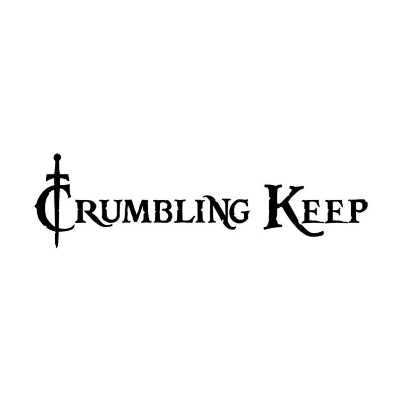 Crumbling Keep Black Men's T-Shirt by Crumbling Keep's Print Shop