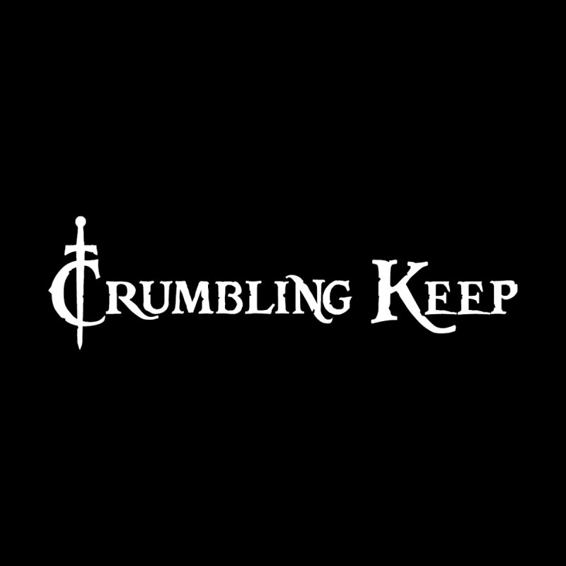 Crumbling Keep White Men's T-Shirt by Crumbling Keep's Print Shop