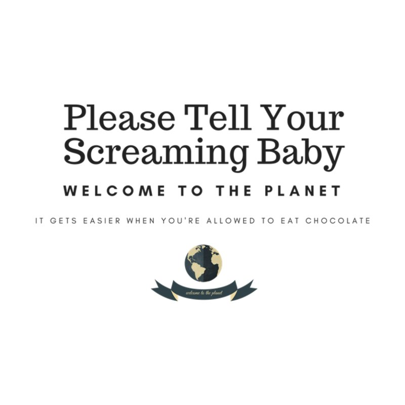 Screaming Baby by Cuban Coffee's Artist Shop