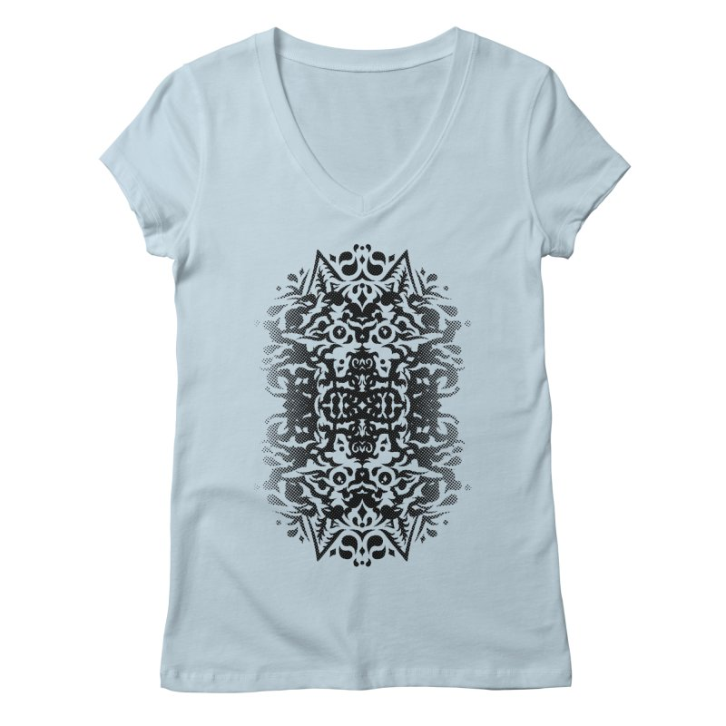 Pathfinder Women's V-Neck by Curiosity Supply Co.