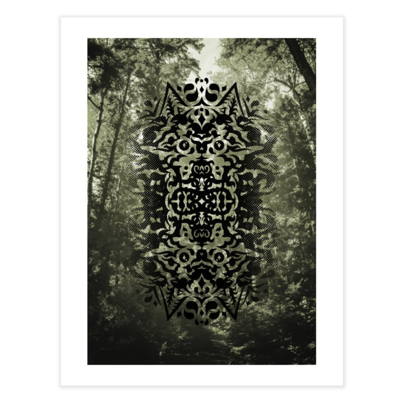 Pathfinder Home Fine Art Print by Curiosity Supply Co.