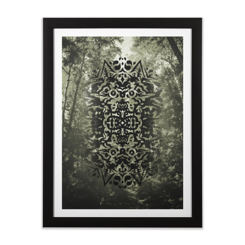 Pathfinder Home Framed Fine Art Print by Curiosity Supply Co.