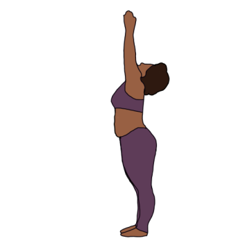 Curvy Black Yoga's Artist Shop Logo