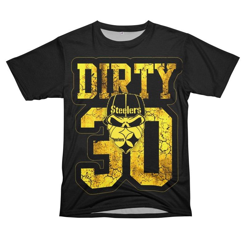 Pittsburgh Dirty 30 Men's Cut & Sew by Custom Cars USA Clothing