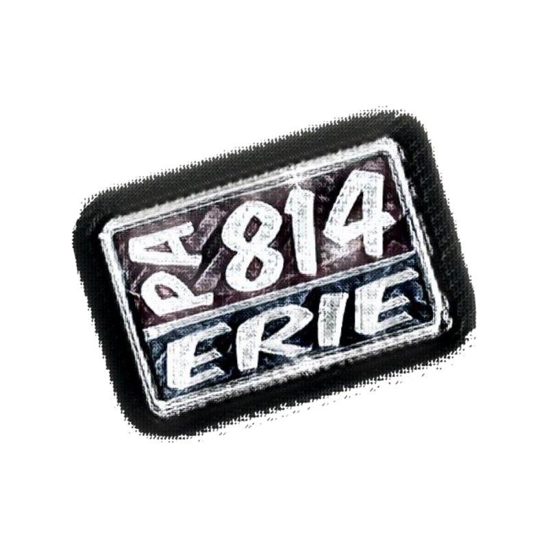 Erie 814 T-Shirt Men's Cut & Sew by Custom Cars USA Clothing