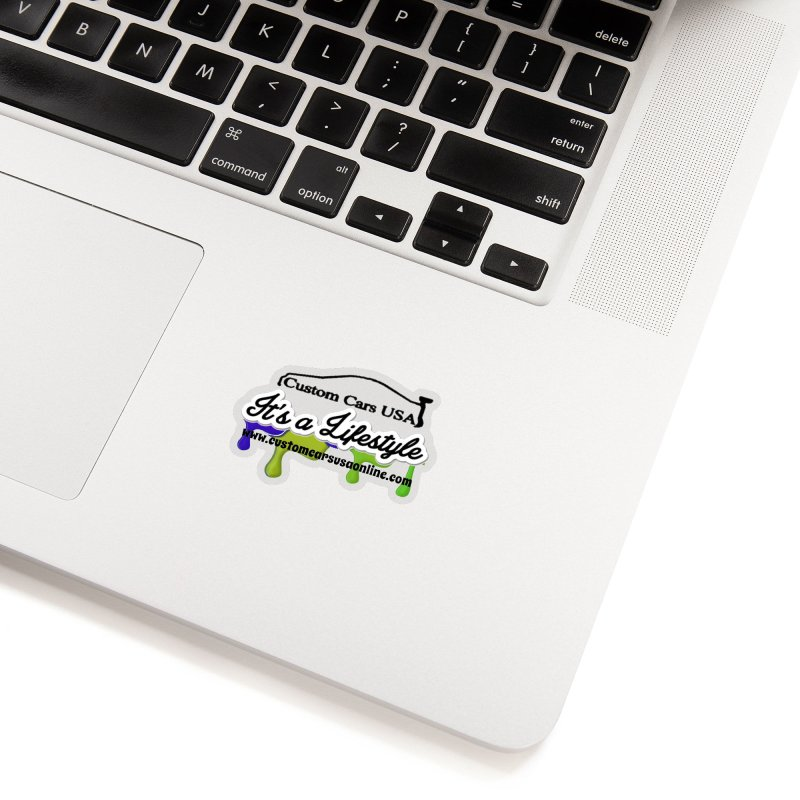 CCU DRIPPY Accessories Sticker by Custom Cars USA Clothing