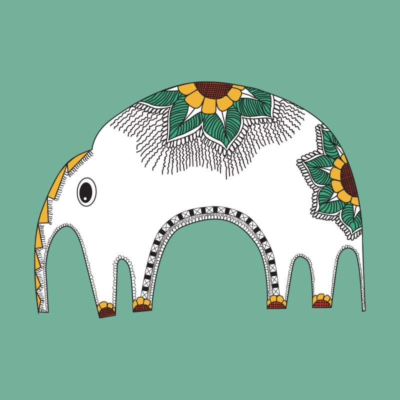Stylish Elephant None  by Cutedesigning's Artist Shop