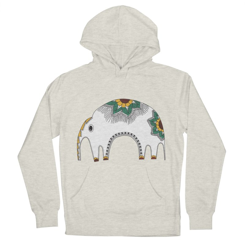 Stylish Elephant Women's Pullover Hoody by Cutedesigning's Artist Shop