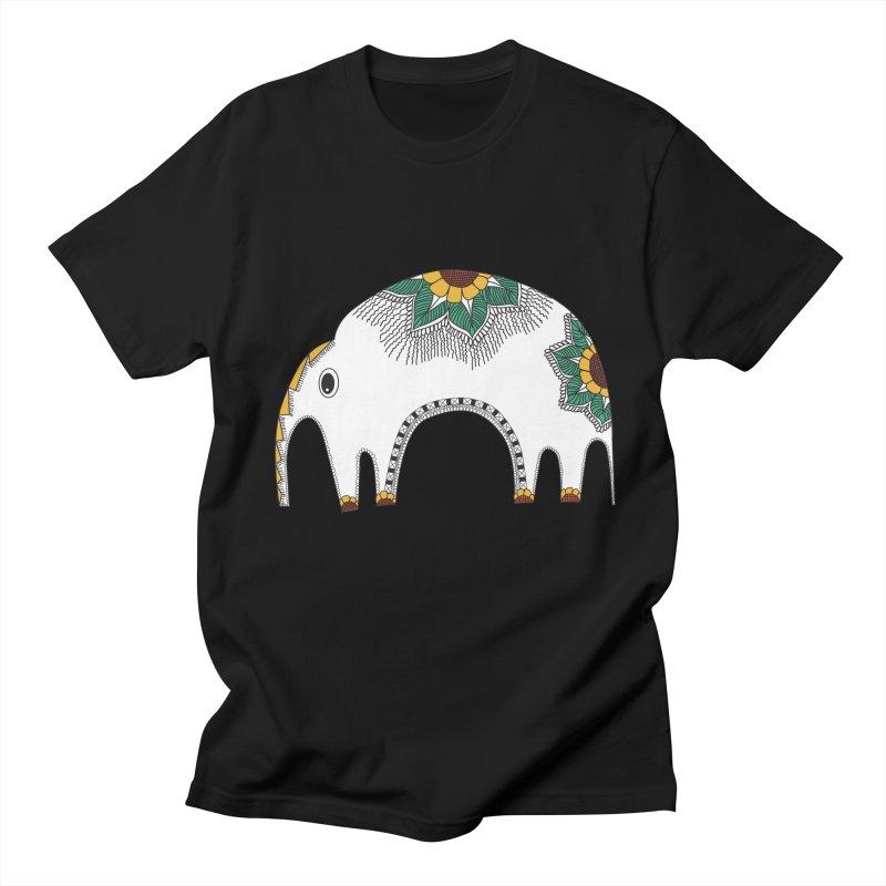 Stylish Elephant Men's T-Shirt by Cutedesigning's Artist Shop