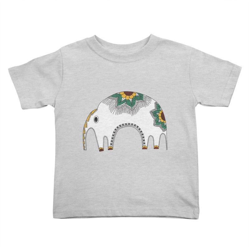 Stylish Elephant Kids Toddler T-Shirt by Cutedesigning's Artist Shop