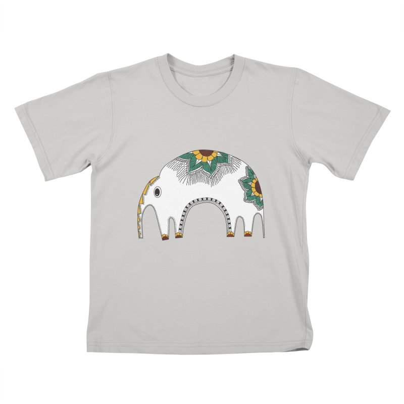 Stylish Elephant Kids T-shirt by Cutedesigning's Artist Shop