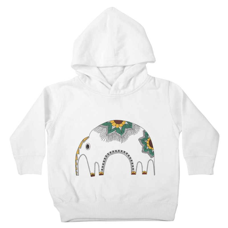 Stylish Elephant Kids Toddler Pullover Hoody by Cutedesigning's Artist Shop