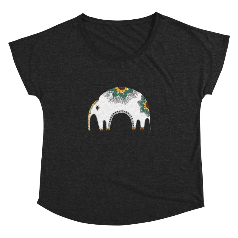Stylish Elephant Women's Dolman by Cutedesigning's Artist Shop