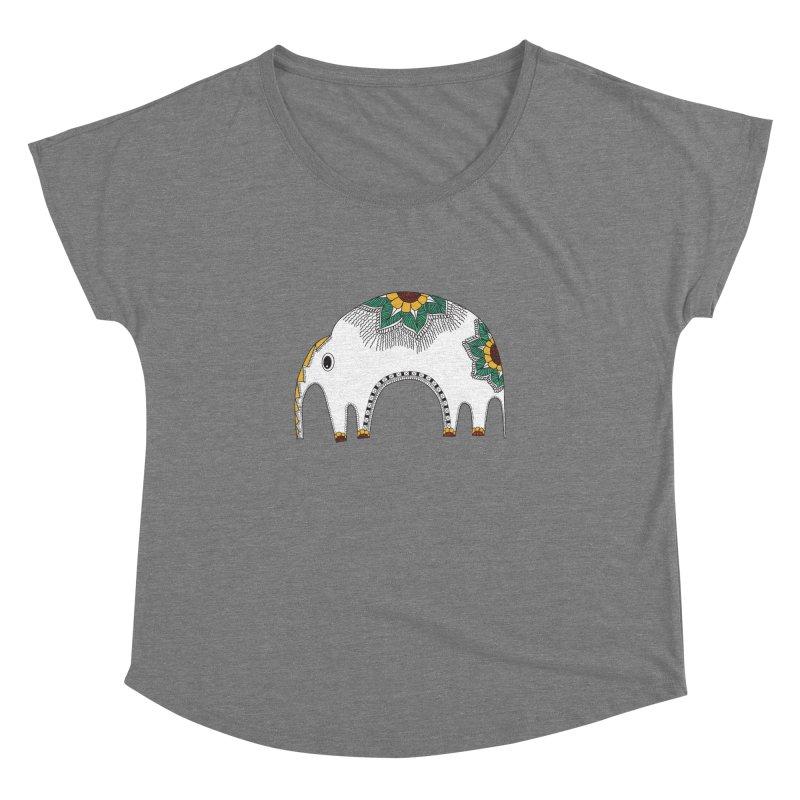 Stylish Elephant Women's Dolman by Cutedesigning's Artist Shop