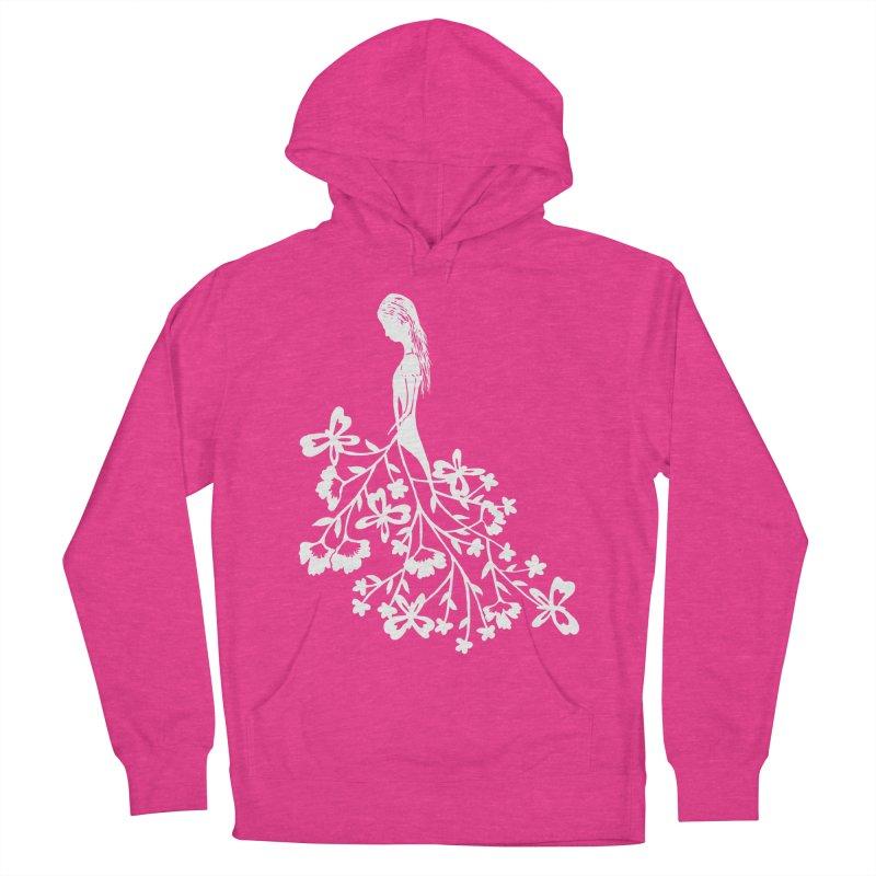 Flower Angel Women's Pullover Hoody by Cutedesigning's Artist Shop