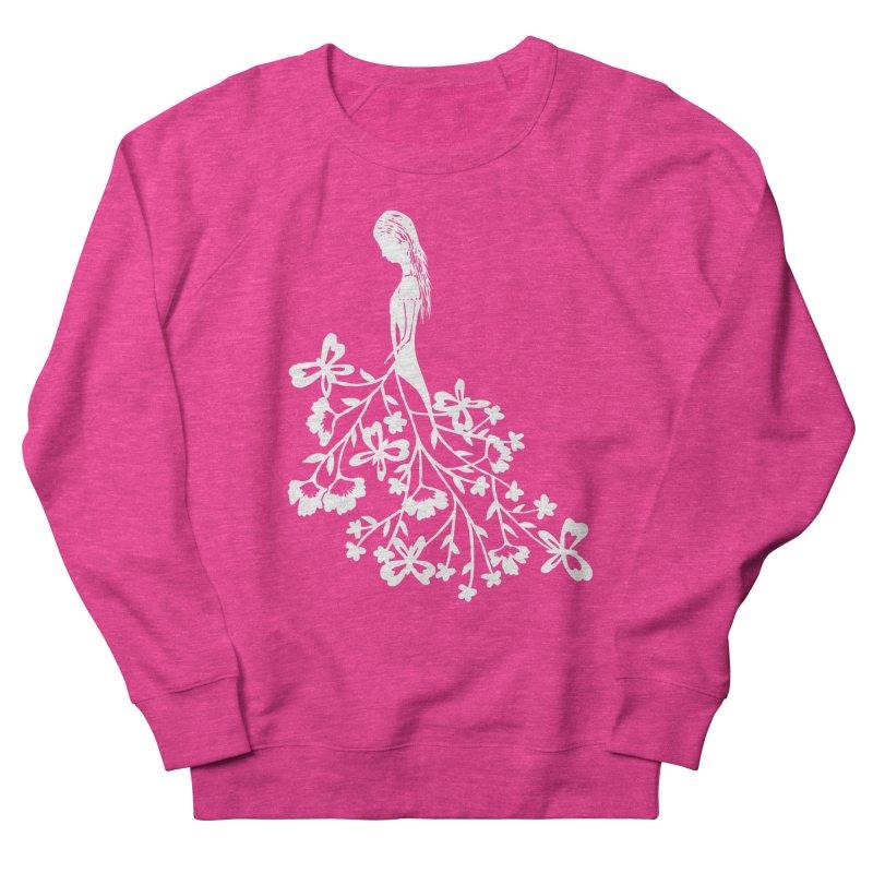 Flower Angel Women's Sweatshirt by Cutedesigning's Artist Shop