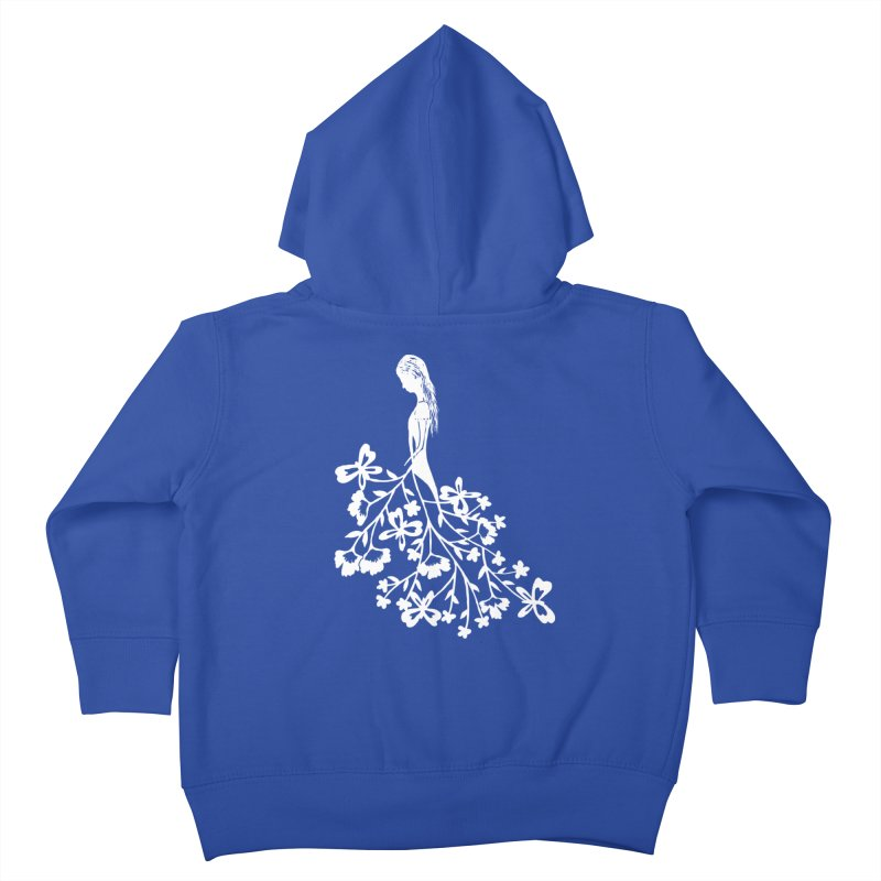 Flower Angel Kids Toddler Zip-Up Hoody by Cutedesigning's Artist Shop