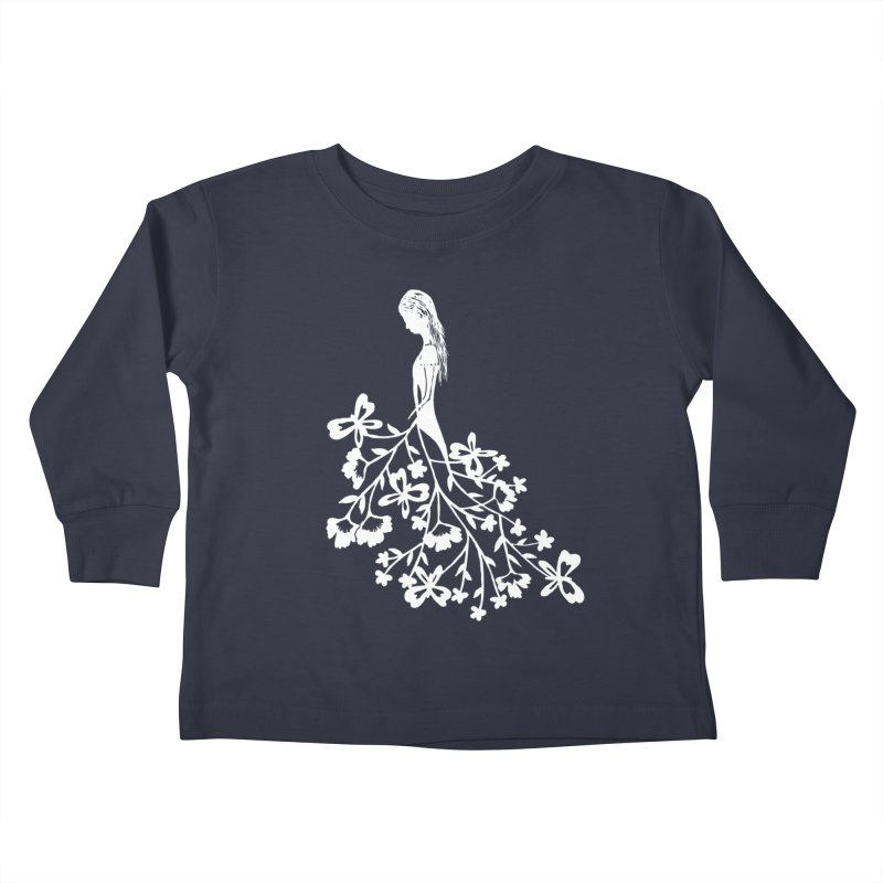 Flower Angel Kids Toddler Longsleeve T-Shirt by Cutedesigning's Artist Shop