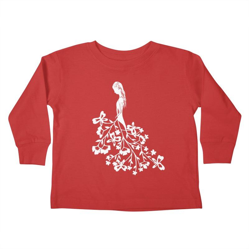 Flower Angel Kids Toddler Longsleeve T-Shirt by Cutedesigning's Artist Shop