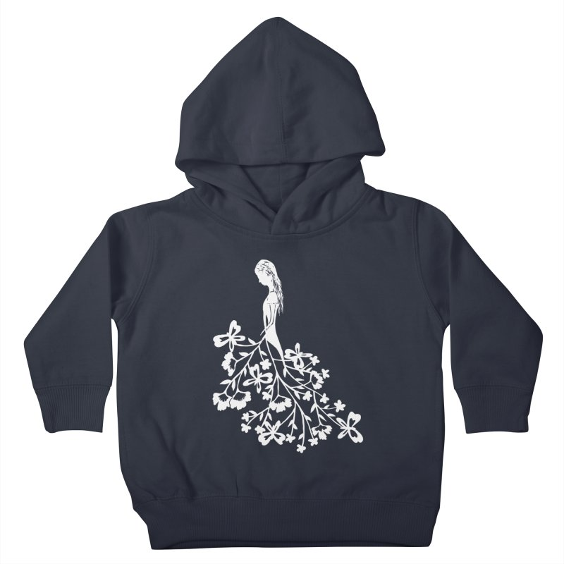 Flower Angel Kids Toddler Pullover Hoody by Cutedesigning's Artist Shop