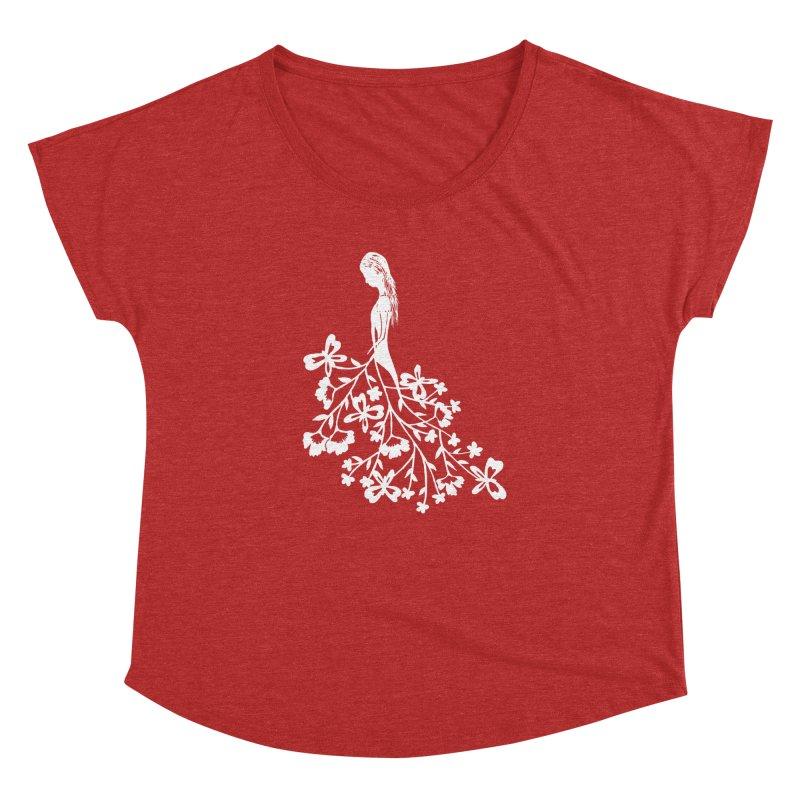 Flower Angel Women's Dolman by Cutedesigning's Artist Shop